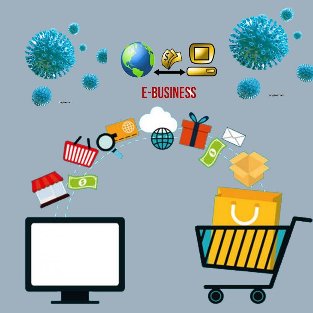 E-Business Solusi Penggerak Roda Perekonomian di Tengah Wabah Covid-19